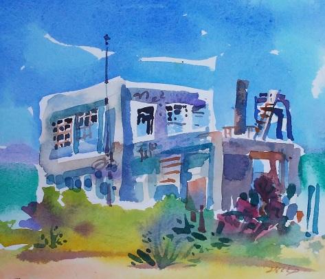 Building 1 Study, Derelict Ferry Terminal