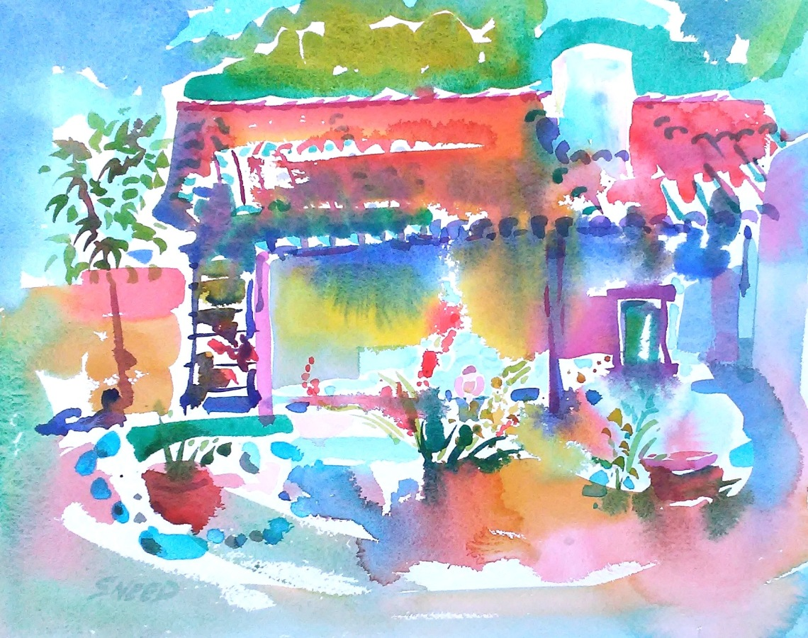 Adobe Home of the First Lady of Alta California, 18 x 22, 20180611