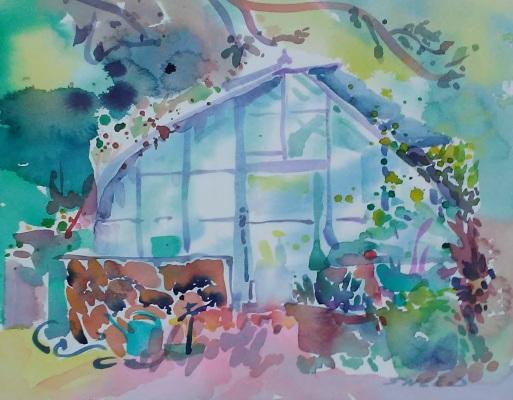 Botanic Garden Greenhouse, 11 in x 15 in, 20190812.jpg