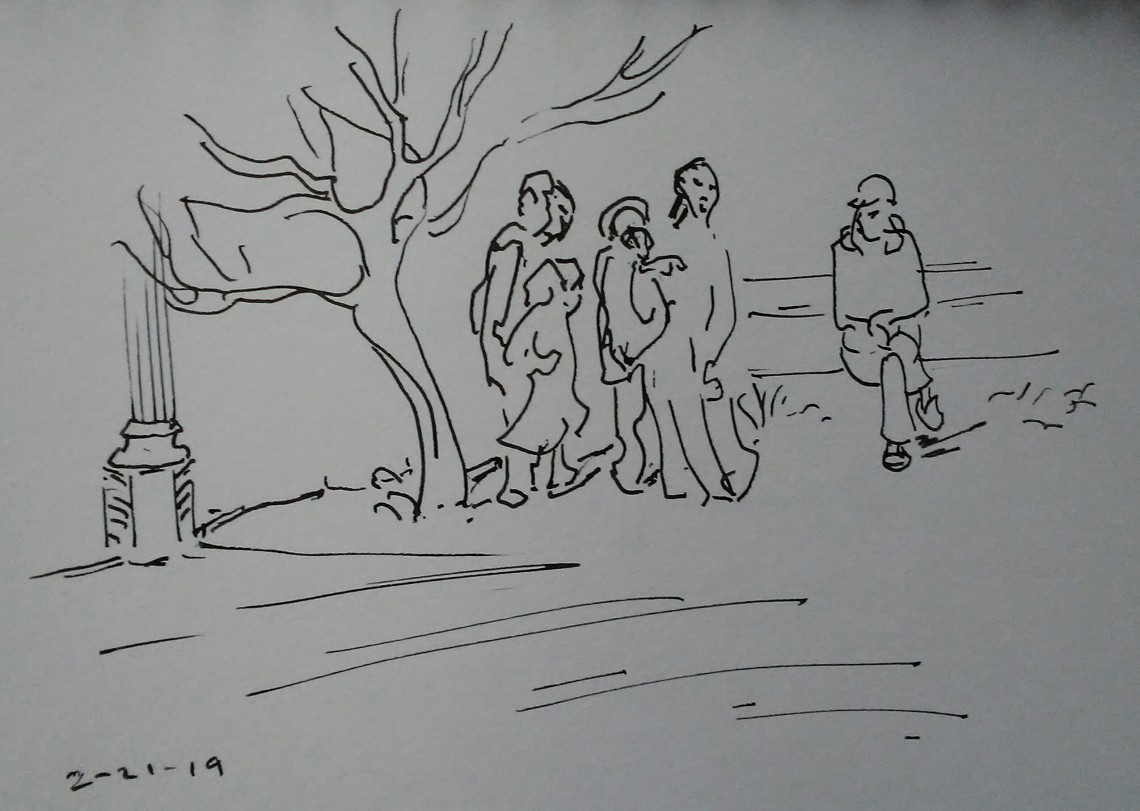 Family Going By, 20190225