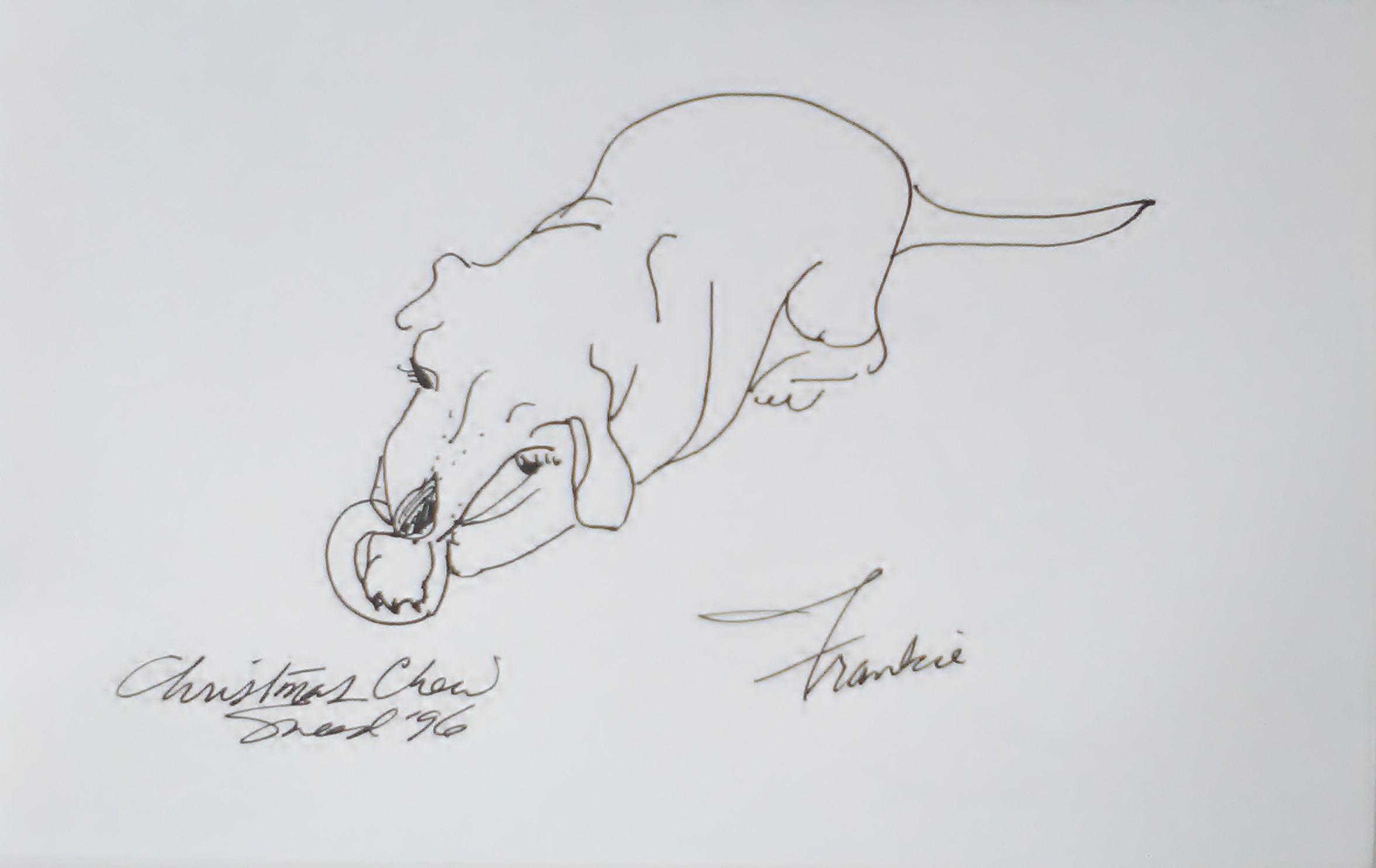 Frankie Christmas Chew_1996
