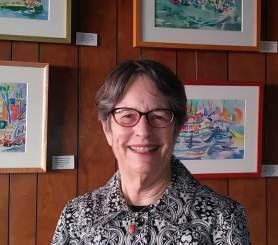 Jane at Berkeley Yacht Club photo by Bazil