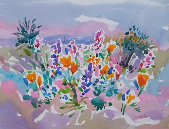 Meeker Slough Wildflowers_12 in x 16 in_20180319.jpg