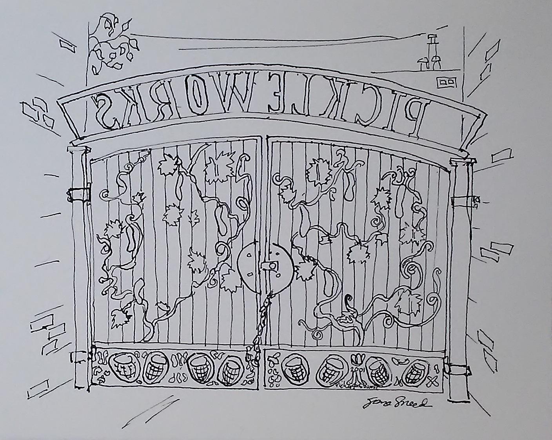 Pickleworks Gate, Emeryville, 20191014.jpg