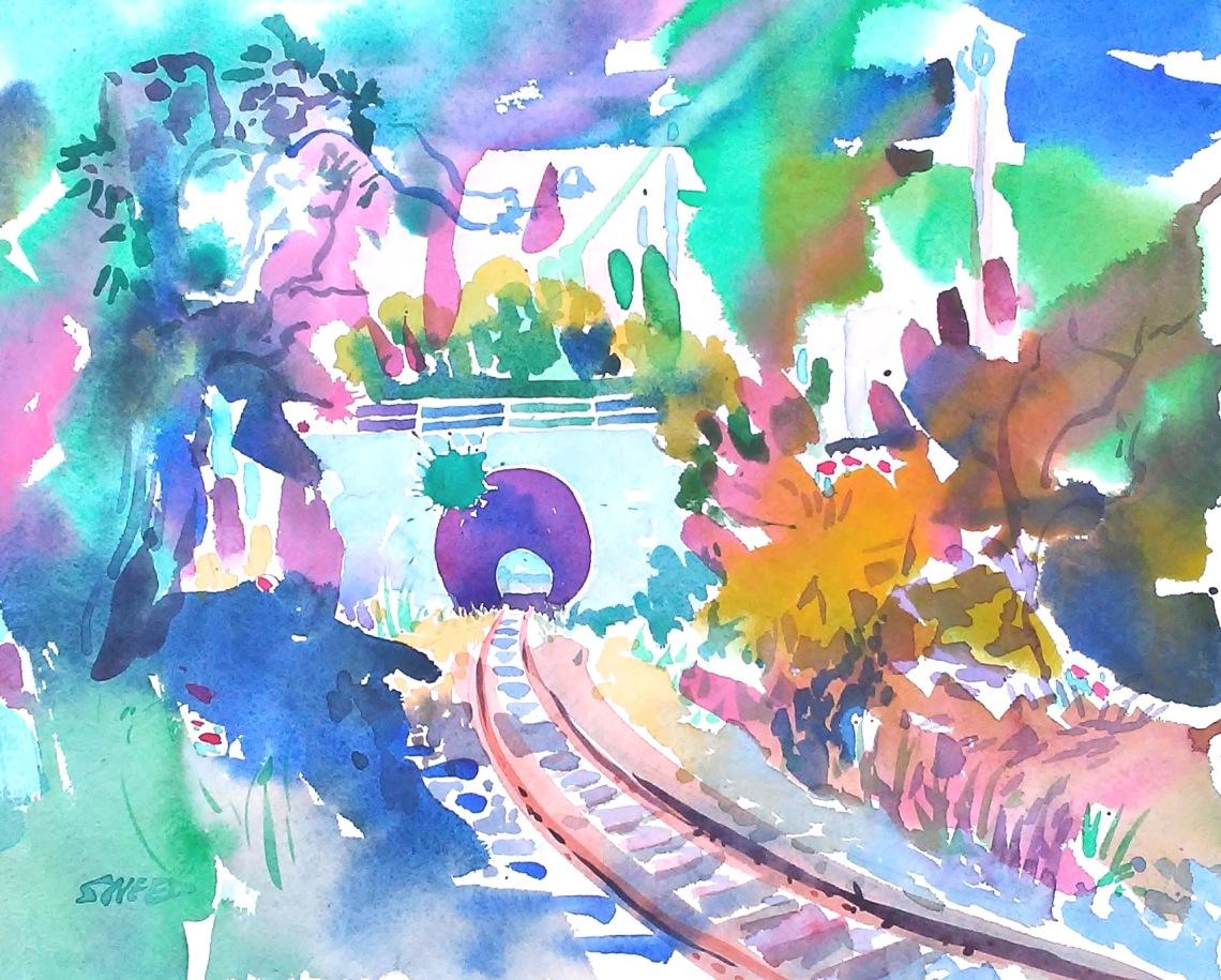 Point Richmond Train Tunnel, 11 in x 15 in, 20180507.jpg