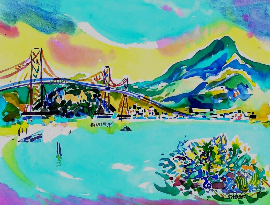 Richmond Bridge with Mt. Tamalpais_16 x 20_20170313.jpg