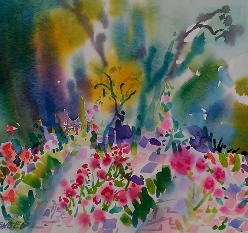Rose Garden Artists, 15 in x 16 in, 20190909.jpg