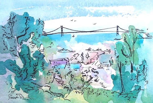 Golden Gate Bridge from Blake Garden_Ink_20190311.jpg