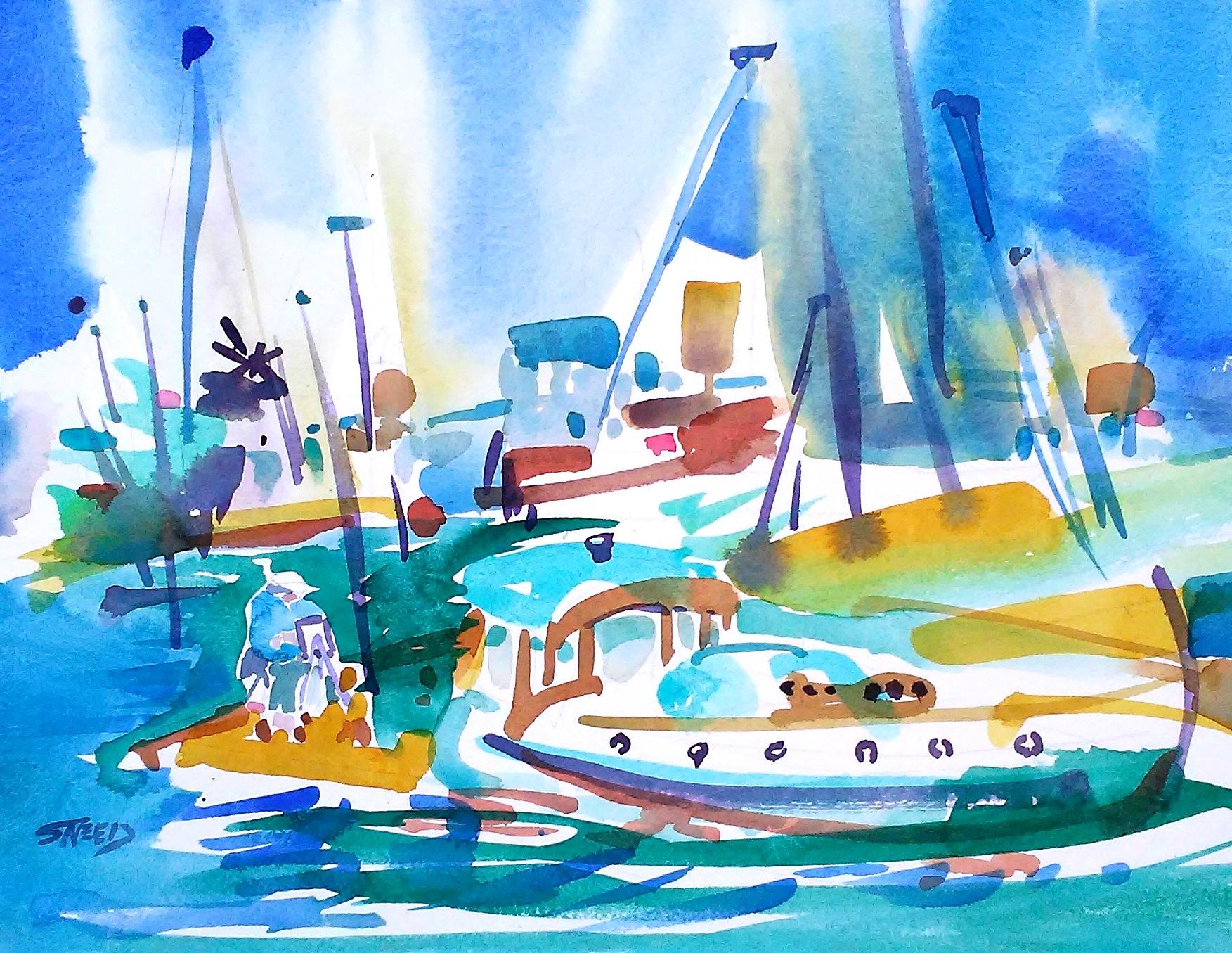 Alameda Grand Marina, 11 in x 15 in, 20200713